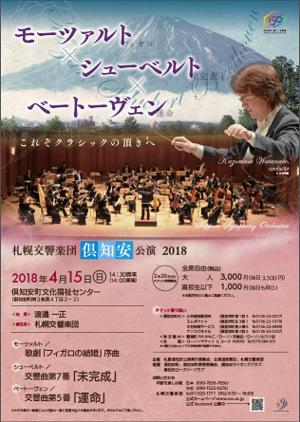 札幌交響楽団 倶知安公演 2018