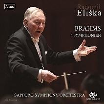 R.エリシュカ指揮 札幌交響楽団 「ブラームス:交響曲全集 SACD盤」