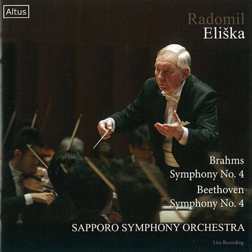 Brahms Symphony No. 4 Beethoven Symphony No. 4 Radomil Eliska Sapporo Symphony Orchestra