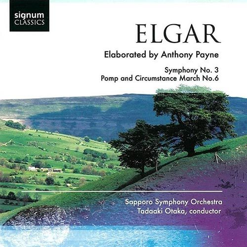 Elgar Symphony No. 3 Pops and Circumstance March No. 6 Tadaaki Otaka Sapporo Symphony Orchestra