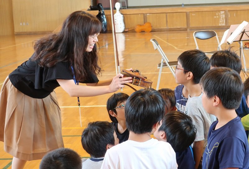Sakkyo Music Creation Program - Kotoni Chuo Elementary School, Sapporo