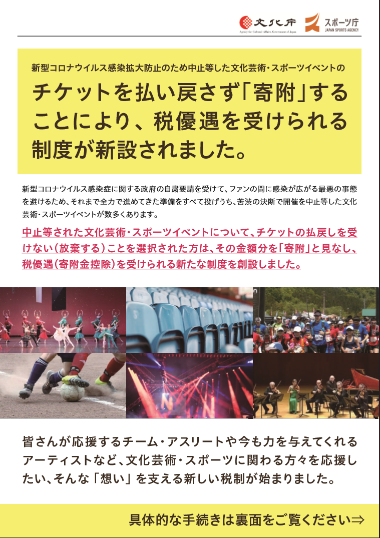 【Important】To guests who wish to donate your ticket