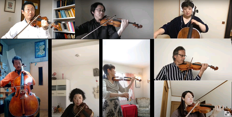 【Sapporo Symphony Orchestra Members Video Streaming Project】
